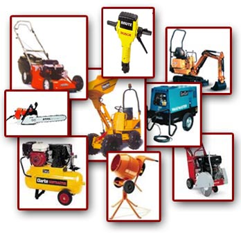 Patton hire your 1st stop for construction plant for Tools and equipment in planting